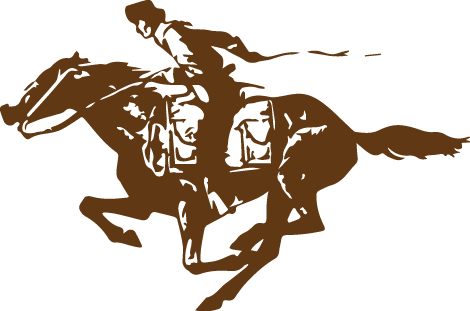 national pony express association here comes the pony horse clipart romance horse clipart black and white