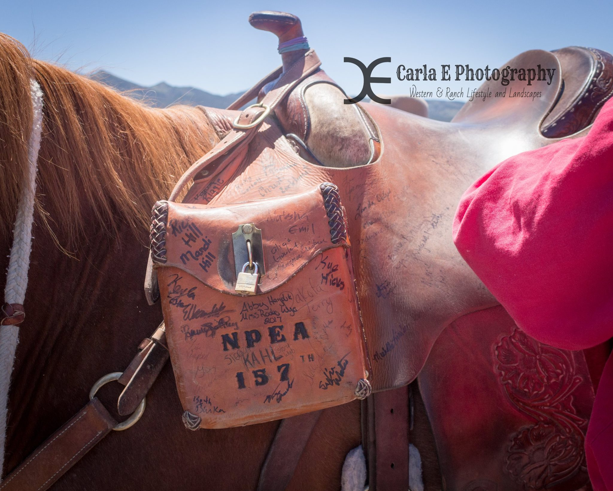 Mochila  U2013 National Pony Express Association